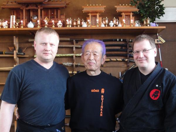Raul & Soke & Indrek, 2010 Japan
